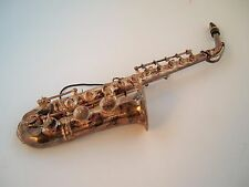 Saxophone Vintage Silver plated ? Musical Christmas Tree Ornament,