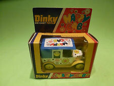 DINKY TOYS 120 HAPPY CAB - TAXI SMILEY FLOWER - RARE SELTEN - GOOD COND. IN BOX