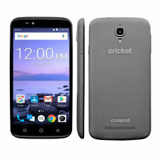 Cricket Wireless Coolpad Canvas - 16GB - LTE - Black Pre Pay Smartphone