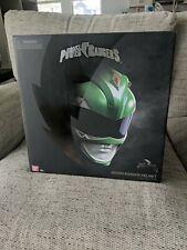 Brand New Bandai Power Rangers Mighty Morphin Legacy Green Ranger Helmet Sealed