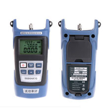 High Precision Optical Power Meter Fiber Testing Tools Wiring Light Decay Tester