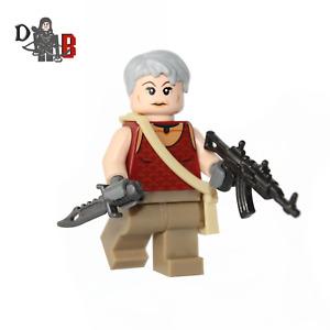 The Walking Dead Carol Peletier Minifigure. Made using LEGO & Custom parts.