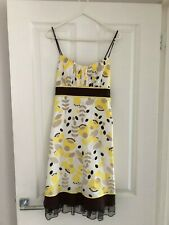 Love Tease Clothing Ladies Lined Retro Dress from Macy's USA Size 7 - UK Size 8
