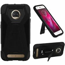 Étuis, housses et coques noirs Motorola Moto Z Play pour téléphone mobile et assistant personnel (PDA) Motorola