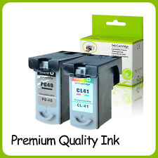 1PK PG-40 CL41 Ink Cartridge for Canon PIXMA MP170 MP180 MP190 MP210 MP450 MP460