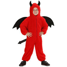 KINDER TEUFEL KOSTÜM Halloween Satan Flügel Schwanz Jungen Mädchen Fest 104 1985