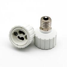1x E17 To GU10 Socket Base LED Halogen CFL Light Bulb Lamp Converter Holder