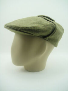 NEW CLASSIC BUGATTI CAP Driving Earflaps VINTAGE Rally Lugger 100% WOOL Goodwood