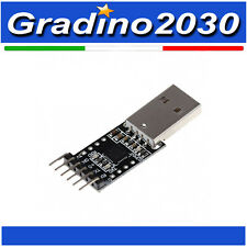 CP2102 convertitore seriale USB 2.0 a uart TTL 6 pin modulo