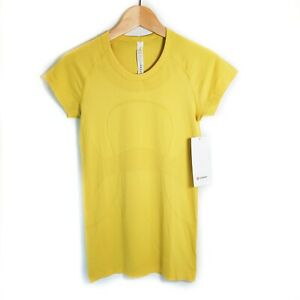 Lululemon Swiftly Tech Short Sleeve Color Soleil Yellow
