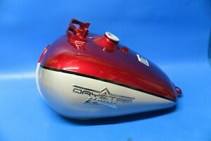 Daelim Daystar VL125 Fuel injected petrol tank in red and silver 1751ABA1RA2020