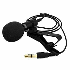 Mini Metal Microphone Portable Lapel with Clip-on Cell Phone Microphone