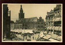 Holland Netherlands NIJMEGEN Markt Marktdag RP PPC c1930s?