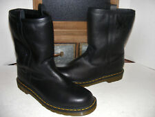 NEW DR. MARTENS ASPEN Mid Calf Pull On Leather BOOTS Shoe Warm Sheepskin MENS 11