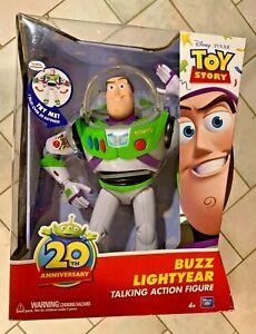 Disney Pixar Toy Story 20th Anniversary Buzz Lightyear Talking Action Figure