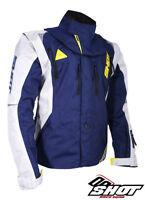 Shot Flexor Advance Enduro Jacket Blue / Neon Yellow Husqvarna Colours