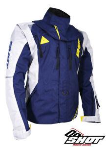 Enduro Jacket Shot Flexor Advance Blue / Neon Yellow Husqvarna Colour