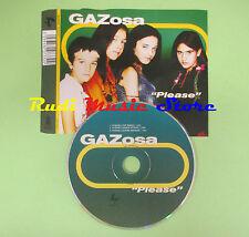 CD Singolo GAZOSA Please 2000 SUGAR 300733 2 no lp mc dvd (S5)