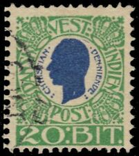 DANISH WEST INDIES 33 (Mi31) - King Christian IX (pa62284)
