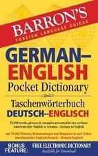 Barron's German-English Pocket Dictionary: 70,000 Words, Phrases & Examples Pres