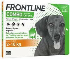 Frontline Combo 4x0 67ml - pour Chien de 2-10kg