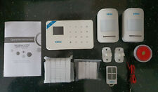 Kerui W18 GSM WiFi Alarm System With Sensors and Remote for Home, Garage, Shed