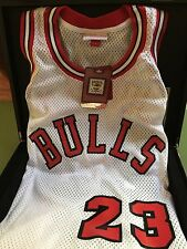 AUTHENTIC Mitchell and Ness 1984 Home Bulls Michael Jordan Rookie Jersey #735