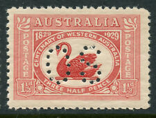 Australia 1929 Official Perfin West Australia Sg# O120 Nh