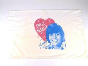 Donny Osmond Sweet Dreams Pillowcase Fan Club Donny and Marie Osmond 70's