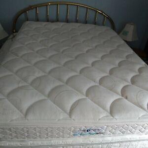Sleep Number Classic Series Queen Mattress Pillow Top Outer Cover Zipper