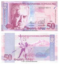 Armenia 50 Dram 1998  P-41 Banknotes UNC