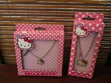 Hello Kitty Necklace and Bracelet Set of Two Jewellery Items (NEW)