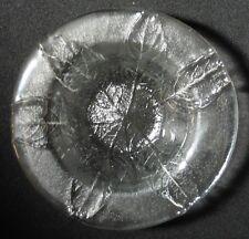 Kosta Boda Glas:  Tiefer Teller PARTY. Design: Göran & Ann Wärff. ca.17 x 4,5cm