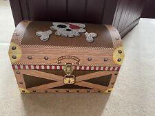 Pirate Toy Box Storage VGC