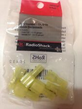Fully Insulated • Crimp-On Quick Disconnects #640-3135 By RadioShack