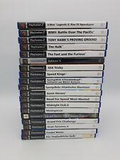 Playstation 2 PS2 Spiele Games Sammlung Set Konvolut gebraucht