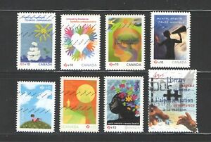 8 Semi postal stamps small collection