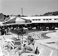 TURQUIE c. 1960 - Hôtel Bain de Soleil Colonne Kilyos - Négatif 6 x 6 - Tur 80