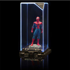 SENTINEL LUMINATE FIGURINE DISPLAY CASE MARVEL SUPER HEROES SPIDER-MAN 17cm NEW
