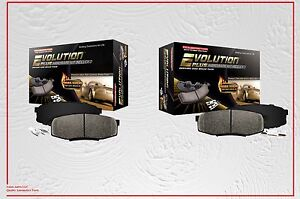 """Front and Rear Ceramic Brake Pads with Hardware FITS """"05-12 NISSAN PATHFINDER"""""""