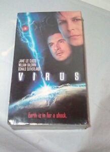 New In Box-VIRUS-Jamie Lee Curtis/William Baldwin/Donald Sutherland-VHS