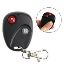 A&B Key DC12V Gate RF Wireless Remote Control Garage Door Transmitter 433MHz