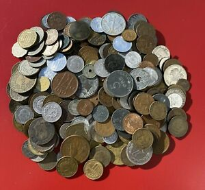 225+ World Coins Collection - Mid 1800's/ Mid 1900's - Circulated & Uncirculated