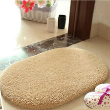 Light Camel Bathroom Rug Non Slip Bath Mat Room Floor Cover Shower Carpet