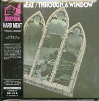 HARD MEAT-THROUGH A WINDOW-IMPORT MINI LP CD WITH JAPAN OBI Ltd/Ed G09