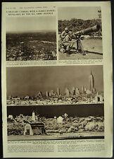 U.S. Army Signals Corps 26 Mile Range Camera 1954 Magazine Page Article