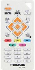 MANDO CONTROL REMOTO UNIVERSAL THOMSON ROC2206  2 EN 1 TV-DVD-TDT ETC. CON IMAN