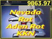 Original Lackstift Nevada Rot / Aden Rot  für PEUGEOT - KKN, KKNB - OE 986397