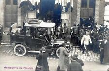 CPA 60 MANOEUVRES DE PICARDIE 1910 GRANDVILLIERS (GROSSE ANIMATION BELLE VOITURE