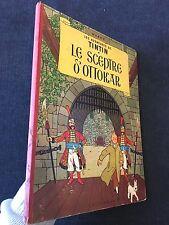 Tintin: Le Sceptre D' Ottokar 1958 Early Belgian Edition EO Herge first